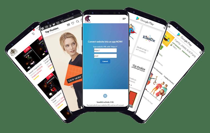 app converted portofolio